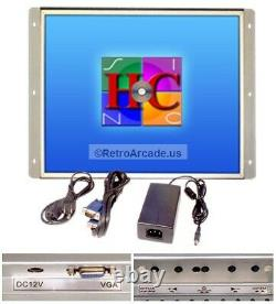 19 Inch Arcade Game LED Monitor for Arcade Cabinets, Jamma / MAME / MultiCade
