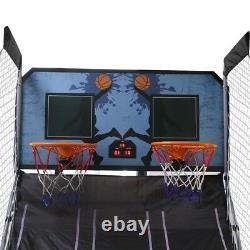 2 player LED Electronic Basketball Double Shot Hoops Arcade Indoor Sports Game
