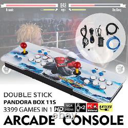 2021 New Version! Pandora's Box 11S 3399 Games 2D/3D Video Game Double-players