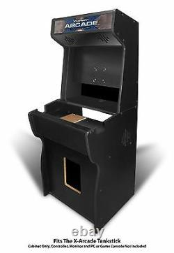 27 Xtension Arcade Cabinet fits X-Arcade Tankstick (With Coin Door Hole)