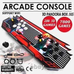 3D WIFI Pandora Box 18S 8000 in 1 Retro Video Games Double Stick Arcade Console