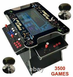 4 PLAYER Cocktail Arcade Machine3500 Classic Games 26.5 INCH SCREEN LG