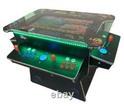 4 PLAYER Cocktail Arcade Machine3500 Classic Games 26.5 SCREEN TRACKBALL