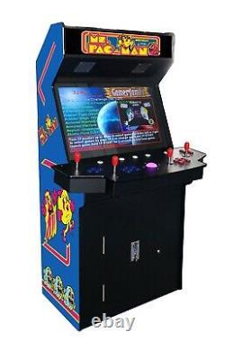 4 PLAYER STANDUP Arcade Machine3500 Classic Games 32 inch SCREEN UPRIGHT