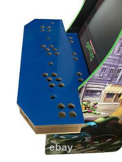 4 Player Arcade 1Up DIY Board With Plexiglass + Tmolding TNMT