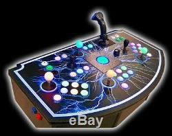 4 Player Custom Retro Video Arcade Control Panel MAME(tm) Buy withBitcoin