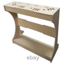 4 Player Fight Stick Arcade Pedestal Kit DIY Kit Sanwa Easy to Assemble