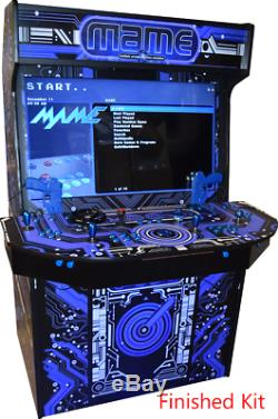 4 Player Monster Upright Arcade DIY Kit (Up to a 43 Screen)