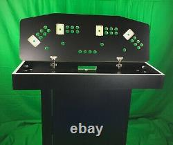 4 Player Pedestal Fight Stick Arcade Game Box DIY Kit