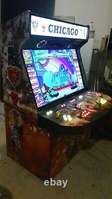50 LED TV 4 Player Home Video Arcade Game MAME(TM)