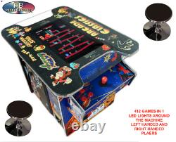 Amazing Cocktail Arcade Machine With 412 Classic games! 22 inch Large screen