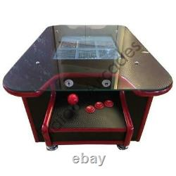 Arcade Coffee Table Machine 60 Retro Games 2 Player Gaming Cabinet UK Made To Or
