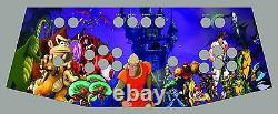 Arcade Control Panel with Custom Graphics and Zippy Control Kit, Cam Lock Kit