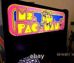 Arcade Machine, -Coin Operated, -Amusement, - Bally Midway, -, Ms Pacman-, New Cabinet