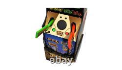 Arcade1Up Big Buck World Hunter Video Arcade Game with 2 Light Gun Rifles Riser