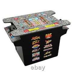 Arcade1Up Deluxe 12-in-1 Head to Head Cocktail Table with Split Screen Street