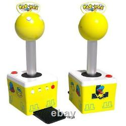 Arcade1Up Pacman Giant Joystick In Home Arcade with 10 Games