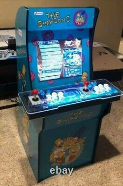 Arcade1up Arcade Cabinet Graphic Decal Complete Kits -The Simpsons