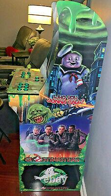 Arcade1up Cabinet Riser Graphics Ghostbusters Graphic Wrap Sticker Decal Set