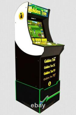 Arcade1up Golden Tee with 4 Games, New, Factory Sealed, FAST-SHIPPING, In Stock