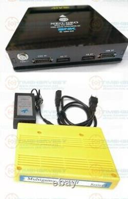 BLACK JAMMA CBOX MVS SNK NEOGEO CMVS to 15P SNK or SS joypad with 161 in 1 card