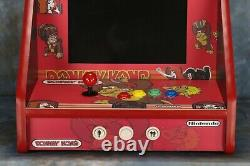 Bar / Table Top Classic Arcade Machine with 60 Classic Games Donkey Kong Theme