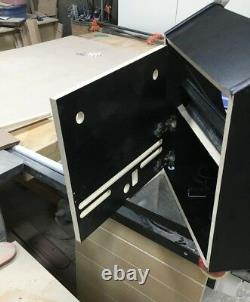 Bartop Arcade Cabinet Kit Black, Easy Assembly hardware, Basic Kit