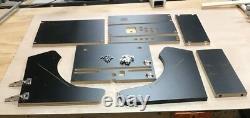 Bartop Arcade Cabinet Kit Black, Easy Assembly hardware, Basic Kit 17.75 Wid
