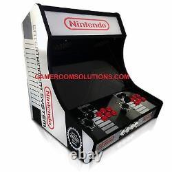 Bartop Arcade Kit Bundle, Sanwa, LED Buttons, USB Encoder Easy Assembly -USA