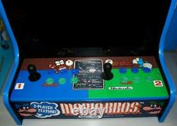 Bartop SUPER MARIO New Multicade Arcade Cabinet PacMan Simpsons TNMT XMen Tetris