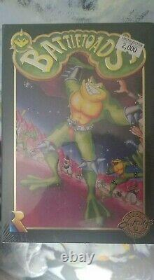 Battletoads NES Legacy Cartridge LIMITED EDITION 2K Green OR Rare Pimple Brown