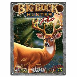 Big Buck Hunter Pro & Tin Sign Brand New