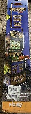 Big Buck Hunter Pro/World Arcade1UP Classic Home Arcade Gaming Cabinet with Riser