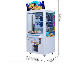Commercial Key Master Toy Redemption Vending Machine Arcade Crain Game Tickets