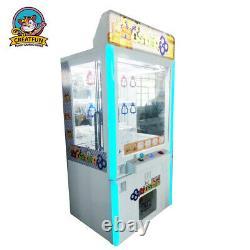 Commercial Key Master Toy Redemption Vending Machine Arcade Crane Game