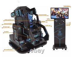 Commercial VR Mecha Ride 9D Virtual Reality 360 Cinema Shooting Flight SEE VIDEO