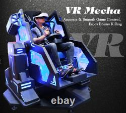 Commercial VR Mecha Simulator 9D Virtual Reality 360 Skydive Shooting SEE VIDEO