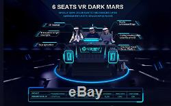 Commercial VR Simulator 9D Virtual Reality HD Arcade 360 degree Super Pendulum