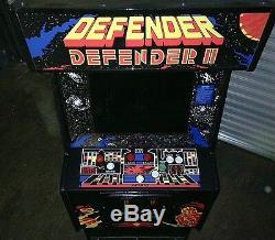 Defender / Defender II Arcade Video Multi Game Machine