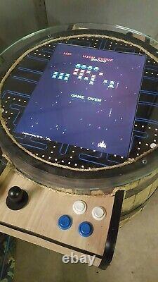 Donkey Kong Barrel Arcade Game 60 in 1 NEW Custom Built in USA
