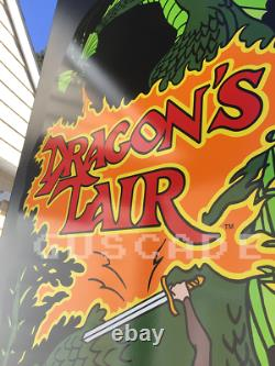 Dragon's Lair Arcade Machine NEW Full Size cabinet DRAGONS LAIR GAME GUSCADE