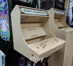 Easy to Assemble XL Bartop / Tabletop Arcade Cabinet Kit with Marquee Holder HAPP