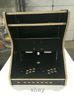Extra Wide Bartop Arcade Cabinet Deluxe Kit Easy Assembly, for 25 Monitor