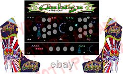 Extra Wide Bartop Arcade Cabinet Kit for 22 Monitor With Graphics Set