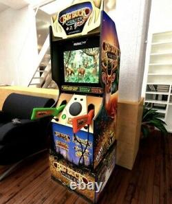 Full Size Big Buck Hunter Arcade1UP Home Gaming Cabinet with 4 Games On Hand