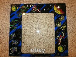 GALAGA Acrylic Bezel with Midway Logo Screen Printed from the BEST Since 2000