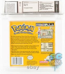 GB Pokemon Yellow Special Pikachu Edition Factory Sealed Wata 8.0 C+ 1999