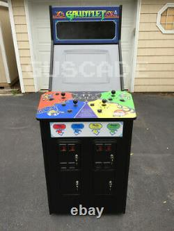 Gauntlet Arcade Machine Atari NEW Full Size Plays many games 4-Player Guscade