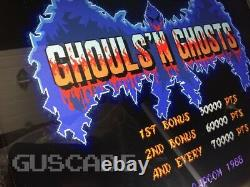 Ghouls N Ghosts Arcade Machine NEW Multi Also Plays Goblins + OVR 1013 Guscade