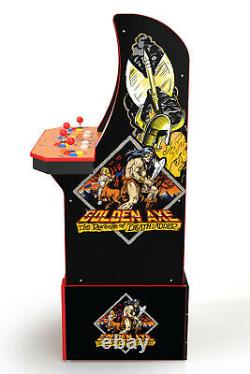 Golden Axe Arcade1UP Gaming Cabinet Machine Includes 5 Games Ship Within 10 Days